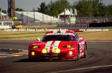 Chrysler Viper GTS-R (Archer Duez Huisman) photo. Le Mans 24 hours 2000 Ford Chicane